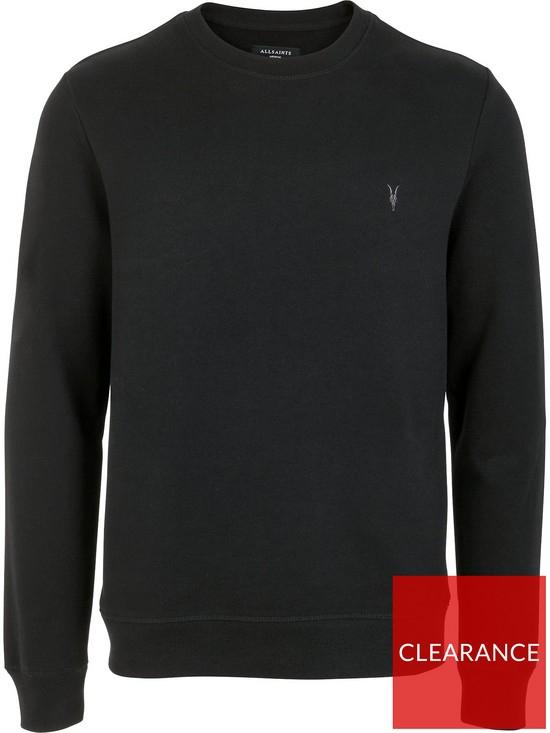 All saints Raven Crew Neck Sweatshirt - Black £21 + £3.99 delivery at Very
