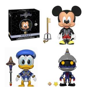 Kingdom Hearts 3: Funko 5 Star Vinyl Figure: Mickey Mouse - £3.99 / Donald Duck £4.99 Delivered Delivered @ Forbidden Planet