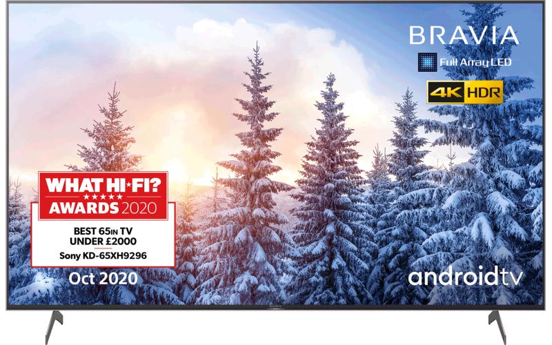 "Sony 65"" 4k TVs KD65XH9296BU and KD65XH9005BU refurbs - £749 @ Centres Direct"