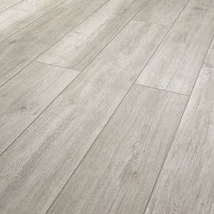 Wickes Arreton Grey Laminate Flooring - 1.48m² pack for £14.80 + £7.95 delivery (£22.75) - free del. over £75 @ Wickes