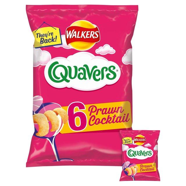 Quavers Prawn Cocktail 6 Pack - 99p Morrisons Peckham