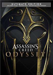 [PC] Assassin's Creed Odyssey Ultimate Edition : Game + Season Pass + Deluxe Pack + AC 3 Remastered at £7.67 (VPN Brazil) @ Epic Games