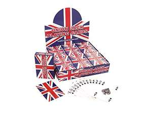 Union Jack Playing Cards - £1.48 Prime (+£4.49 Non Prime) @ Amazon