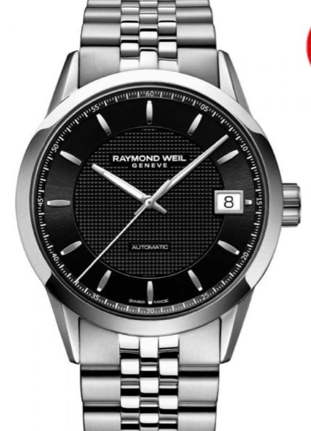 Raymond Weil Freelancer Automatic Bracelet Watch 2740-ST20021 £975 @ TH Baker