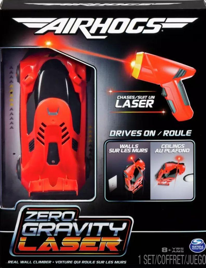 Air Hogs Zero Gravity Laser Radio Controlled Car - Red - £17.50 / £21.45 delivered @ Argos