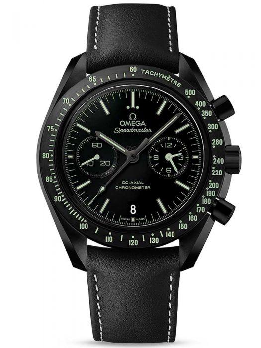 OMEGA Mens Speedmaster Moonwatch Black Leather Strap Watch 311.92.44.51.01.004 - £7495 delivered @ TH Baker