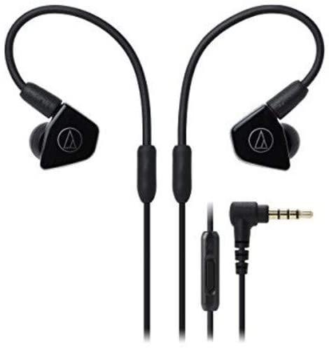 Audio-Technica ATH-LS50iSBK Earbuds Earphones - Black - £19.99 (+£4.49 Non Prime) @ Amazon