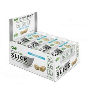 CNP Plant Slices Protein Bars (Short Dated) £8.78 delivered at Bodybuilding Warehouse