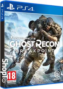 Ghost Recon Breakpoint (PS4) - £5.85 Delivered @ ShopTo