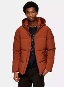 Up to 80% off sale + 99p express delivery+ 10% Off with code e.g. Rust Hooded Puffer Jacket £10.80 / £11.79 delivered @ Topman