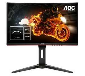 "C24G1 Full HD 144 Hz 24"" Curved VA Gaming Monitor - Black DAMAGED BOX - Used @ eBay Currys Clearance - £139.43"