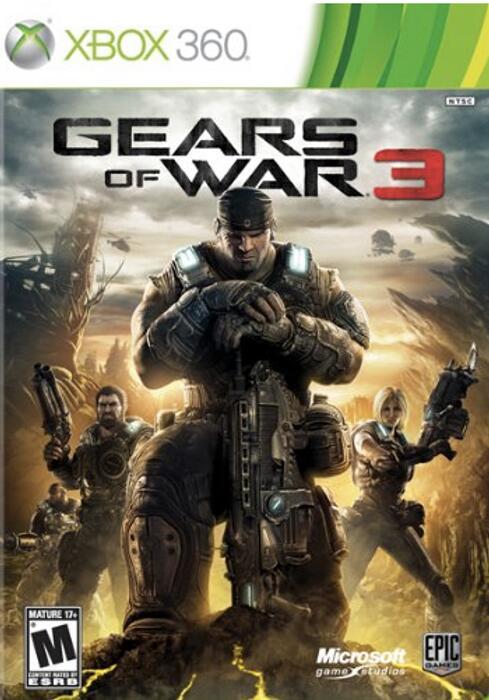 Gears Of War 3 [Xbox One/360] 99p @ CDKeys