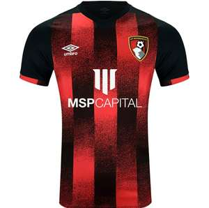 50% off all AFC Bournemouth 2020/2021 replica kits and training wear - E.G Home Kit £28.95 delivered @ AFC Bournemouth Store