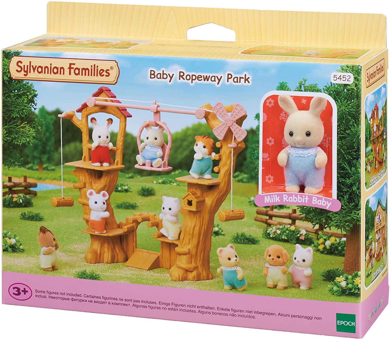 Sylvanian Families 5452 Baby Ropeway Park Playset - £13.90 (+£4.49 Non Prime) @ Amazon