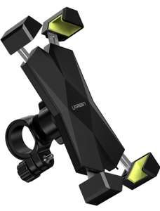 """UGREEN Bike Mobile Phone Holder - For 4.6"""" - 6.5"""" Phones - £5.41 (+£4.49 Non Prime) Sold by UGREEN GROUP LIMITED UK and Fulfilled by Amazon"""