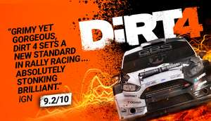 DiRT 4 (PC) Special Promotion! Offer ends 12 February -75% off - Now £3.74 @ Steam Store