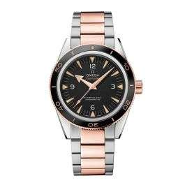 Omega Seamaster 300 Master Co-Axial Chronometer Steel and Sedna Gold 41mm Watch £6950 @ Rudells