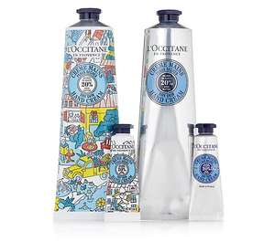 L'occitane shea hand cream collection £33.93 Delivered @ QVC