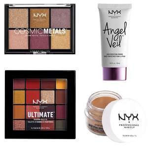 20% Off NYX Make-Up + £5 Off a £25 spend + Free delivery on £30 (otherwise £3.50) @ Boots