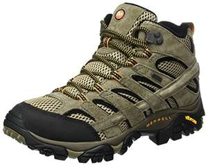Merrell Men's Moab 2 Leather Mid GTX High Rise Hiking Shoes £89.99 at Amazon