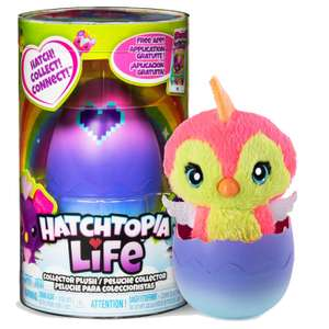 HATCHIMALS Hatchtopia Life Collector Plush Surprise Toy £5 delivered @ Weeklydeals4less