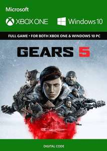 Gears 5 (Xbox Series X S / Xbox One / PC) Digital £16.32 Free Instant Delivery @ Eneba / Gamtra Enterprise