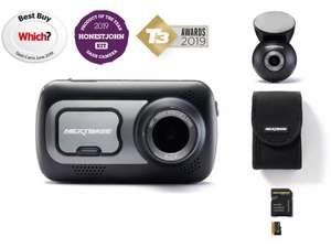 Nextbase 522GW Front & Rear Dash Cam Bundle £161.10 delivered with 10% off promo code at Halfords