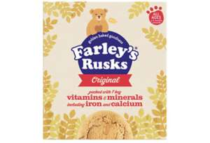 Heinz Farley's Original Rusks 300g £1 (+ Delivery Charge / Minimum Spend Applies) @ Asda