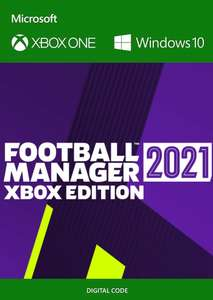 Football Manager 2021 Xbox Edition [Xbox One / Series X/S / PC PlayAnywhere - Argentina via VPN] - £17.60 using code @ Eneba / Magic Codes