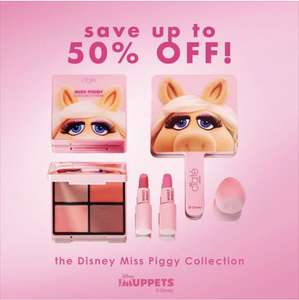 Up to 50% off Disney Miss Piggy Collection from Ciate London