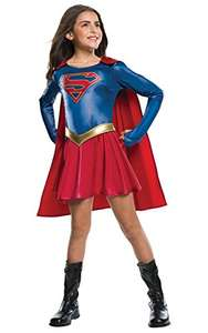 Rubie's Official Supergirl TV Series Fancy Dress Children's Costume 147 cm - Large, 8/10 Years £11.50 (Prime) + £4.49 (non Prime) at Amazon
