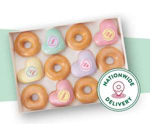 £1 off a 3 pack of Krispy Kreme Doughnuts with voucher 3rd - 4th of Feb Only In Store (Selected stores only) at Tesco