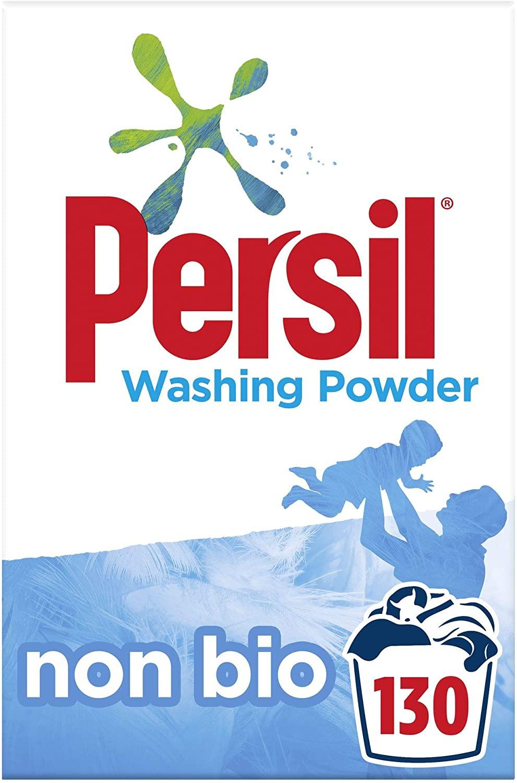 Persil non bio washing powder 130 washes £14 (+£4.49 Non Prime) £10.50 1st time S&S @ Amazon