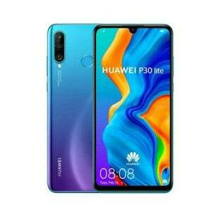 """Huawei P30 Lite New Edition 6.15"""" Unlocked 6GB, 256GB £195.49 with code @ ebay laptop direct"""