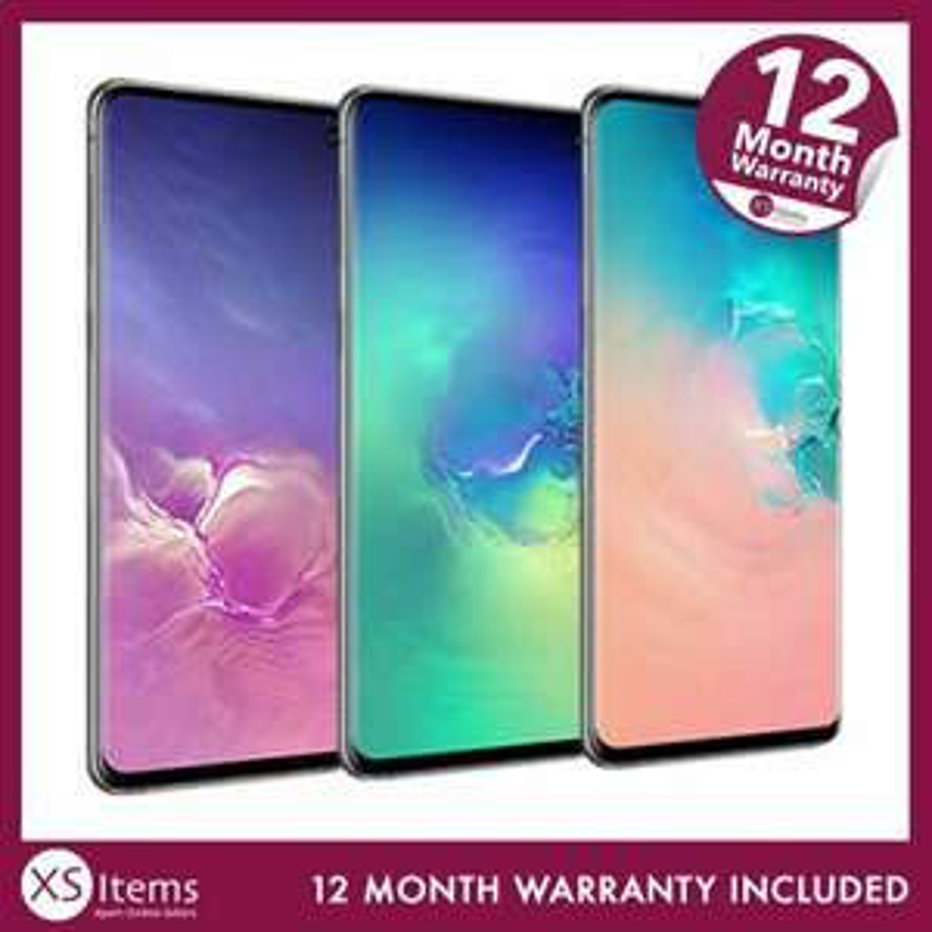 Samsung Galaxy S10 SM-G973F Dual SIM 128GB 512GB Mobile Black/White Unlocked £257.33 ebay / xsitems_ltd