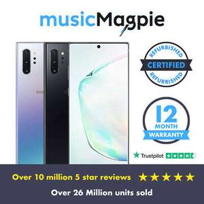Samsung Galaxy Note 10+ 12/256Gb, Aura Black, Used - Good Condition £374.99 @ Music Magpie / eBay