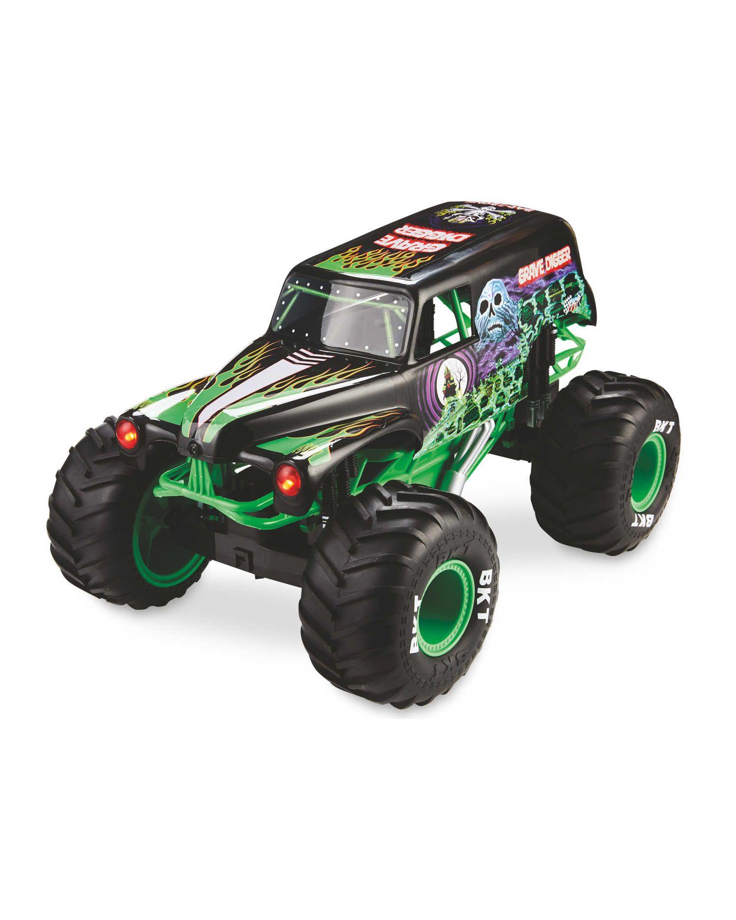 Monster Jam Truck Grave Digger 1:10 - £39.99 Delivered @ Aldi