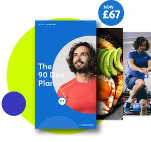 £10 off the 90 Day Plan (£57) from The Body Coach