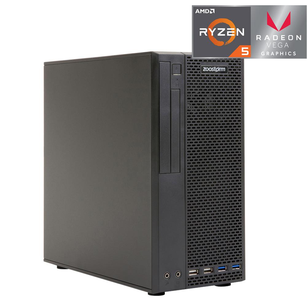 Zoostorm PC Ryzen 5 3400G 8GB RAM 240GB SSD (No OS) £279.99 @ Ergo Computers