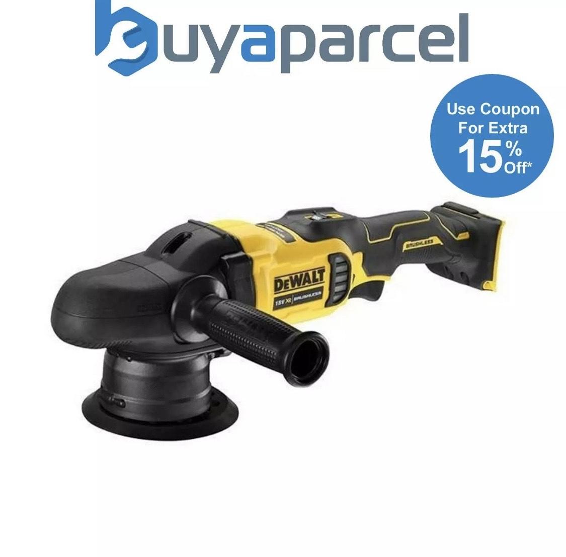 Dewalt 18v dual action polisher DCM848N £152.99 at buyaparcel-store ebay