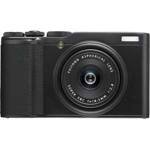 Fujifilm XF10 Digital Compact Camera with 18.5mm Wide Angle Lens (Black/Gold) - £254.15 at cameracentreuk/ebay