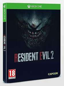 XBOX ONE RESIDENT EVIL 2 RARE STEELBOOK EDITION *Used* - £19.97 @ eBay the-game-monkey