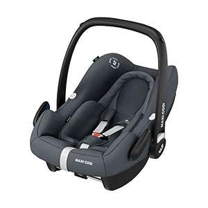 Maxi-Cosi Rock Baby Car Seat Group 0+, ISOFIX, i-Size Car Seat, Rearward-Facing, 0-12 m, 0-13 kg, Essential Graphite £99 @ Amazon