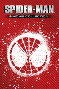 Spider-Man 9 Movie Collection £29.99 @iTunes