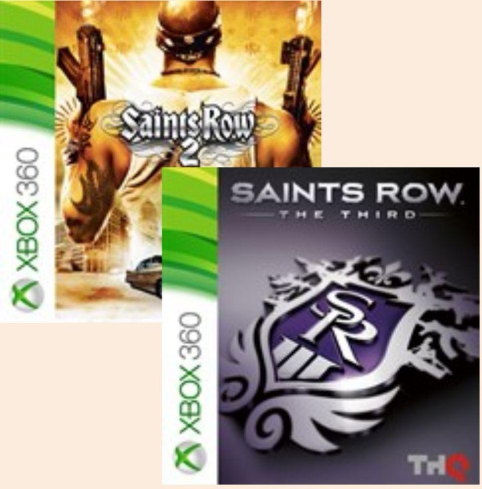 Saints Row 2/Saints Row 3 (Xbox 360/One/SS & SX) £4.22 @ Microsoft Store