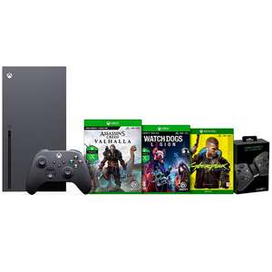 Xbox Series X Console + 3 Games + Twin Charging Station £619.99 + £3.50 delivery JD Williams