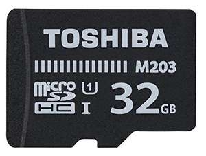 Toshiba Exceria M203 Micro SDHC 100MB/s Class 10 Card 32GB - £1.04 Delivered @ Rarewaves