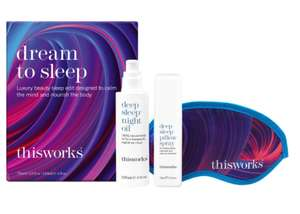 thisworks dream to sleep gift set - Ideal Valentines gift £22.73 @ All beauty