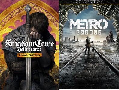 [Xbox & Series X|S] Metro Exodus Gold for £9.59 & Kingdom Come: Deliverance - Royal Edition for £5.27 @ Microsoft Brazil Store