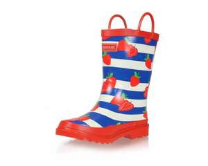 Kids Minnow Printed Wellington Boots Strawberry Stripe - £8.95 / £12.90 delivered @ Regatta